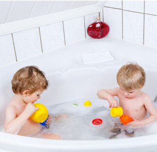 jumeaux-bain